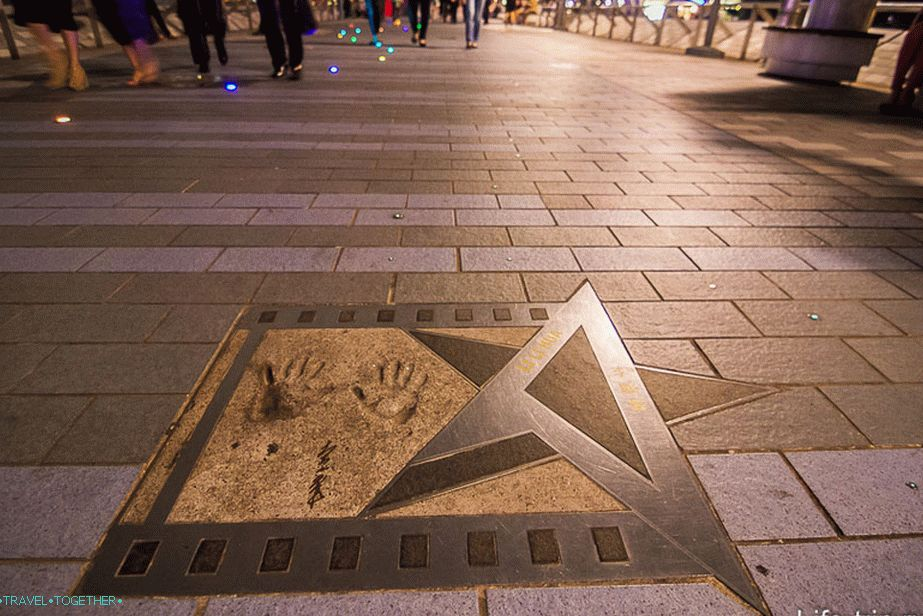 Avenue of Stars u Hong Kongu (8)