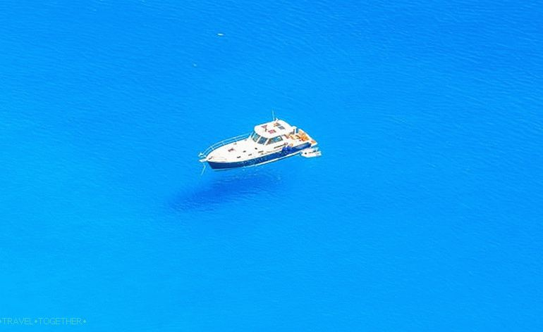 "Amorgos.  ""Blue Abyss"""