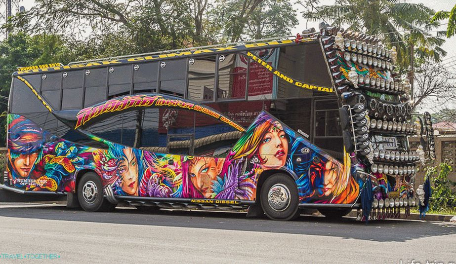 Ayuttai Monster Bus