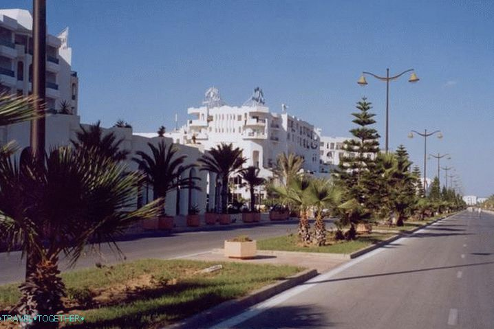 Tunis, Hammamet Resort Quay