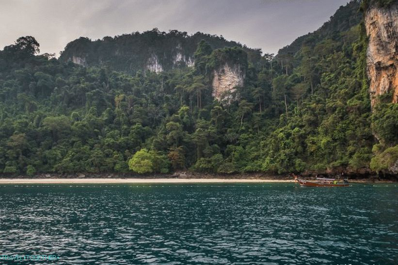 Monkey Beach, Phi Phi Don Island